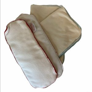 AppleCheeks Cloth Diaper inserts Bamboo MicroTerry